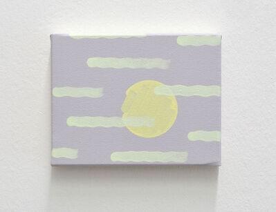 Hugo Pernet, 'Lune (reflet)', 2015