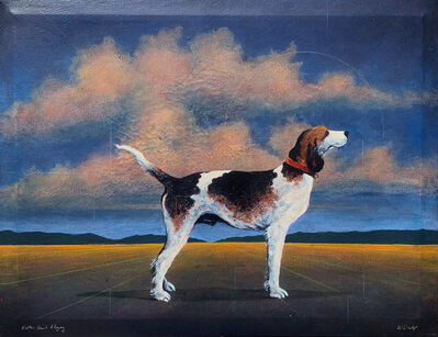 William Dunlap, 'Walker Hound and Allegory'