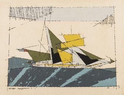 Lyonel Feininger, 'Toppsegelschoner'