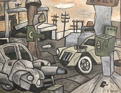 David Elliott, 'Houston War Zone'