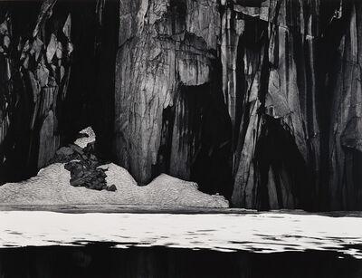Ansel Adams, 'Frozen Lake and Cliffs, Sierra Nevada, California', 1927