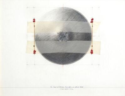 Gérard Titus-Carmel, 'Sur L'Idée De L'Alteration D'Une Sphére, Sur Celle Des Strates', 1971-1974