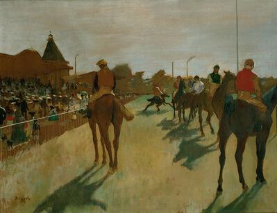 Edgar Degas, 'Le défilé', 1866-1888