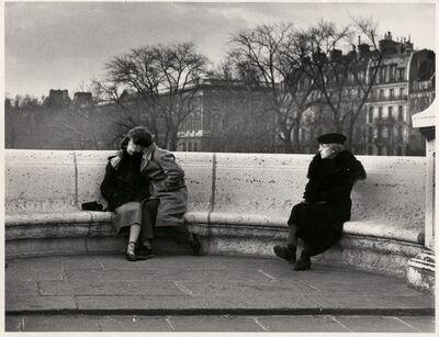Robert Doisneau, 'Le baiser du Pont Neuf, Paris', 1950