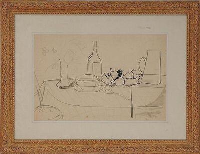 Jean Dufy, 'Tabletop Still Life', ca. 1950