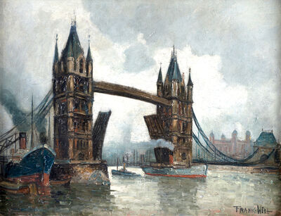 Frank Will, 'London Bridge', 1933