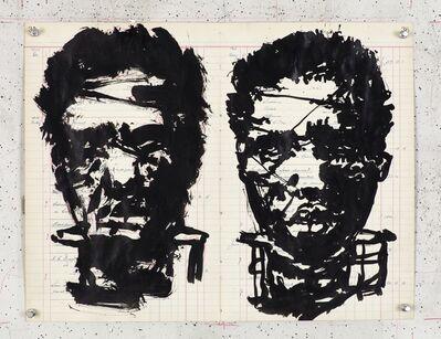 William Kentridge, 'Triumphs and Laments Procession Silhouette 6', 2016