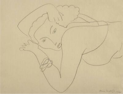 Henri Matisse, 'Femme allongée', 1941