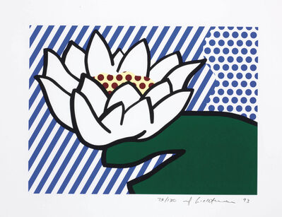 Roy Lichtenstein, 'Water Lily', 1993