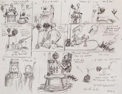 Andras Böröcz, 'Storyboard for Escape Through the Chimney', 2015-2016