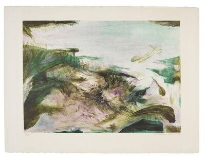 Zao Wou-Ki 趙無極, 'Untitled  (A. 252; R. 253)', 1974