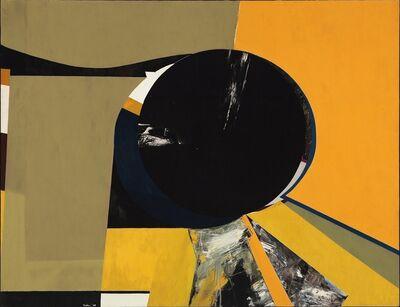 Budd Hopkins, 'Sun Black V', 1969