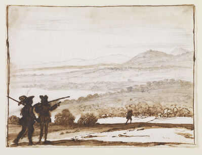 Claude Lorrain, 'View from Tivoli', 1651