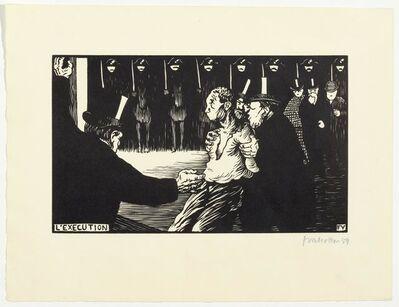 Félix Vallotton, 'L'Exécution', 1894