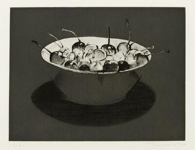 Wayne Thiebaud, 'Dark Cherries', 1986