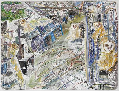 Olive Ayhens, 'Owls', 2012