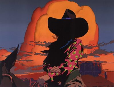 Billy Schenck, 'Blazing Cowgirl', 2019