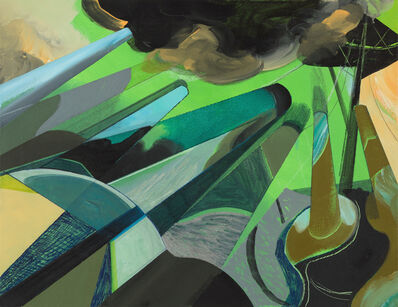 Ce Jian, 'A.S. Green Cannons', 2018