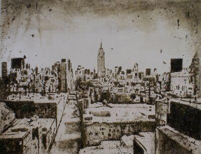 Enzo Fiore, 'Apocalisse New York', 2014