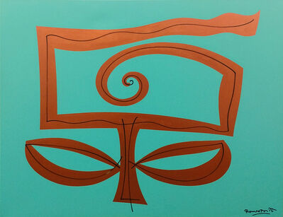 Romero Britto, 'AQUA GARDEN', 2005