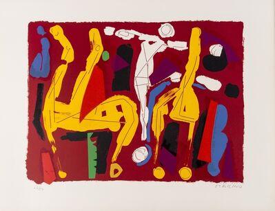 Marino Marini, 'Chevaux et Cavaliers (Guasatalla 106)', 1972