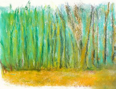 Wolf Kahn, 'APRIL TREES', 2017