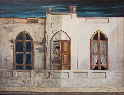 Yosl Bergner, 'Neighbours', 1969