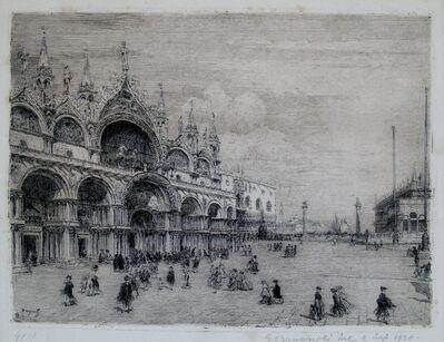 Emanuele Brugnoli, 'San Marco, Venice', 1921