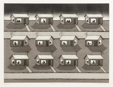 Roger Brown, 'Talk Show Addicts', 1993