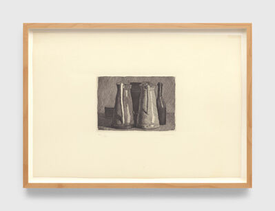Giorgio Morandi, 'Natura morta con cinque oggetti (Still life with five objects)', 1956