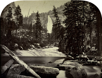 Carleton E. Watkins, 'Yo-wi-ye or Nevada Falls', 1861