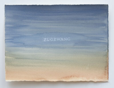 Julia Kuhl, 'Domestic Textiles Series, Zugzwang', 2019