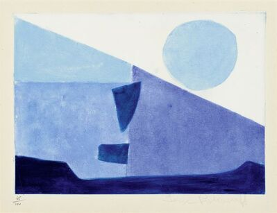 Serge Poliakoff, 'Composition bleue', 1958