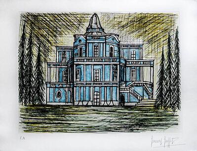 Bernard Buffet, ' Le Palace des Glissades ', 1990