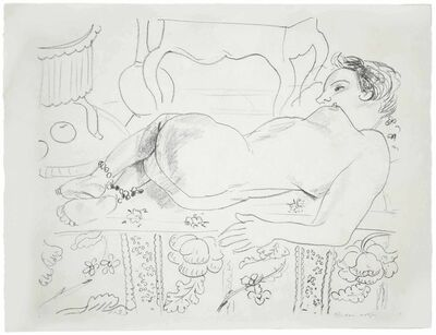 Henri Matisse, 'Nu couché sur sol fleuri', 1929