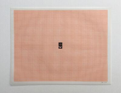 Humberto Márquez, 'Fuck', 1957