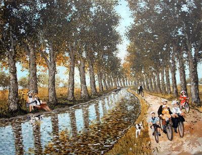 Fabienne Delacroix, 'Canal du midi'