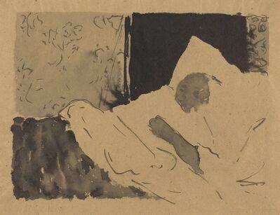 Édouard Vuillard, 'Madame V. Sleeping', ca. 1892