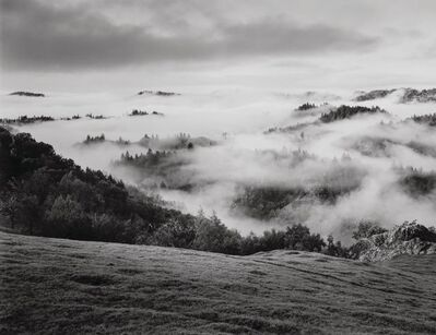 Ansel Adams, 'Clearing Storm, Sonoma County Hills, California', 1951