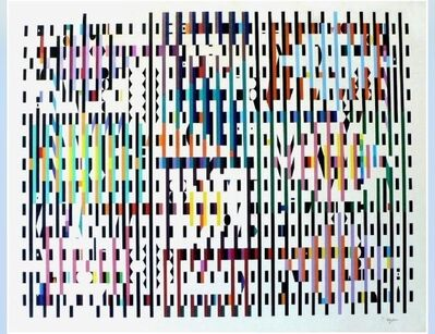 Yaacov Agam, 'Pace of  Time', 1972
