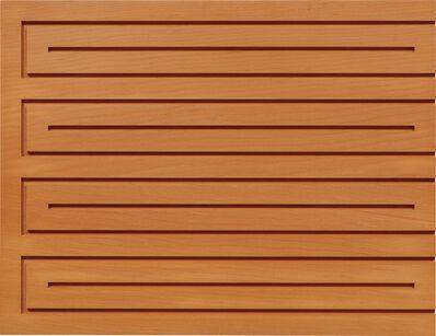 Donald Judd, 'Untitled (89-31 SFA)', 1989