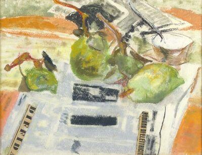 Fausto Pirandello, 'Pears', 1945