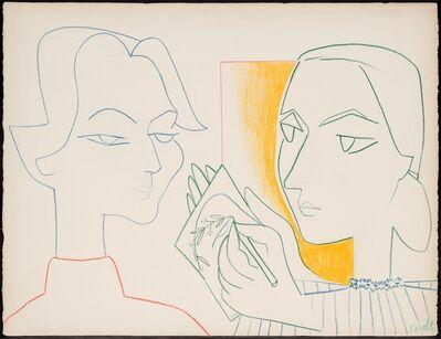 Françoise Gilot, 'Claire's Portrait IV', 1953