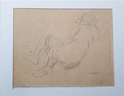 Lasar Segall, 'Mulher deitada', 1937