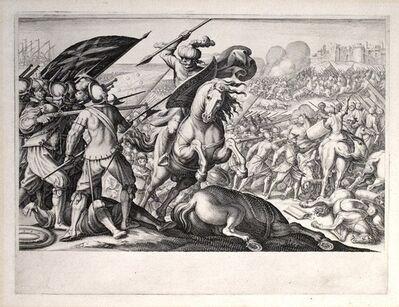 Jacques Callot, 'Défaite de la cavalerie Turque (1st State)', 1614-1620