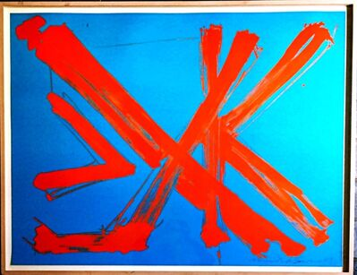 Mark di Suvero, 'Afterstudy for Marianne Moore: Are Years What?', 1976