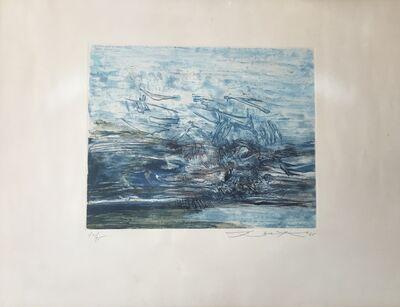 Zao Wou-Ki 趙無極, 'Untitled (Agerup 163)', 1965