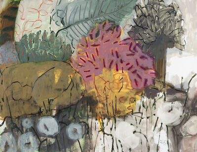Mary Vernon, 'Garden with Guard Dog', 2019