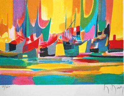 Marcel Mouly, 'Cargo et Bateaux a Violes', 1999