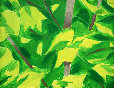 Alex Katz, 'Foliage', 2008